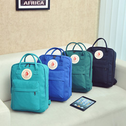 Wholesale Candy Bag Female - The new female female leisure backpack backpack backpack backpack waterproof nylon ladies bag printed Canvas Backpack
