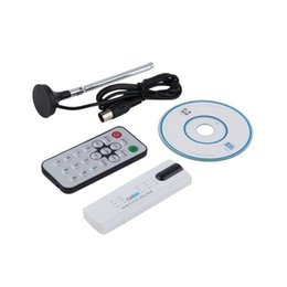 Wholesale Dvb T Pc - 1pc USB 2.0 DVB-T2 T DVB-C TV Tuner Stick USB Dongle for PC Laptop Windows 7 8
