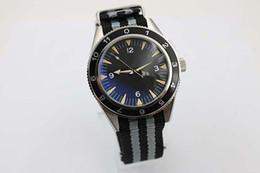 Wholesale Stainless Steel Male - New Stylish Auto Sea 300 Spectre Limited Edition Men's Wristwatch Color Fabric Belt Glass Back Chronometer James Bond Spectre Male Watch