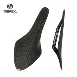 Wholesale Carbon Bicycle Saddle - New Type Bicycle Saddle Glossy Matte Bike Carbon Saddle 3K Full Carbon Fiber MTB Saddle Road MTB Bike Carbon Saddles Bike Parts