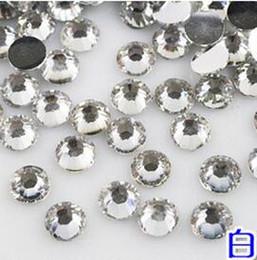 Wholesale Crystal Clear Nail Acrylic - 10000pcs 3mm Acrylic Clear Crystal Rhinestone Flatback Scrapbook Nail Gems Nail Art Scrapbooking 10