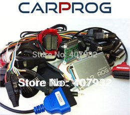 Wholesale Ecu Immobilizer - Wholesale-Low Price Carprog V6.8 Full 21 Adapters for Car Radios ,Airbag Reset ,IMMOBILIZER CAPROG ECU Chip Tuning Tool