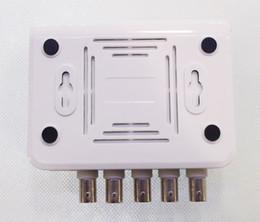 Wholesale Cctv Color Splitter - 4-CH Channel DVR CCTV Quad Video Camera Processor System kit splitter switcher COLOR