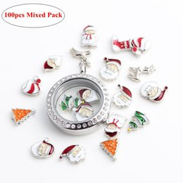 Wholesale Mixed Pendant Charm Pet - Clasp Charms Alphabet Metal Pendants 100pcs Mixed Xmas Slide Charms Fit Pet Collars Different Rhinestone Pattern Lobster Clasp Charms