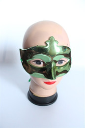 Wholesale Cheap Masks Stick - The cheap Party Mask Masquerade Mask Carnival Mask For Venetian Masks Halloween Masquerade Party Masks on stick 10pcs lot Free Shipping