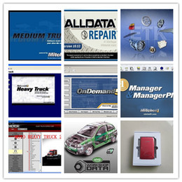 Wholesale Auto Truck Repair - auto repair software alldata 10.53 All data + Mitchell ondemand5 2015 + heavy truck, data software 49in1 1000GB new harddisk