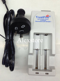 Wholesale Trustfire Batteries - Original Trust fire AU UK EU US charger trustfire tr-001 multifunctional rechargeable charge for 14500 18500 18650 li ion battery DHL free