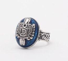 Wholesale Daylight Ring - Damon's Daylight Walking Signet Ring Vampire Diaries Size US6-10 24PCS Lot Free Shipping 1127B