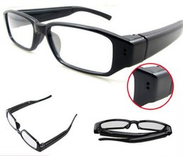 Wholesale Glass Cameras - New 007 Spy Glasses Camera Mini recorder Spy Cam HD Eyewear Video Recorder Hidden Camcorder DVR