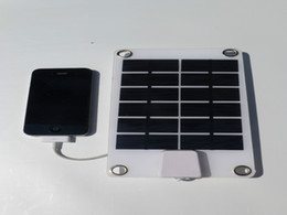 Wholesale Solar Energy Wholesale - Solar Charging New Style Solar Energy Charger USB Output For Charging Mobile Phones With Voltage Controller + Free Shipping