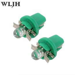 Wholesale Speedo Wholesaler - WLJH 5 Colors led t5 B8.5D 12V Car Gauge b8.5 smd led Speedo Dashboard Instrument Panel Light for Volvo Benz Kia
