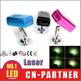 Wholesale Pink Disco Lights - Black  blue pink Mini Stage Laser Lighting Green&Red Emitting Lights 110-220v Auto modes Voice-activated for Disco Stage Party supre quality