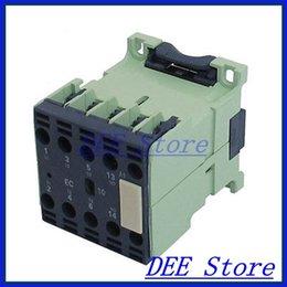 Wholesale 36v Ac Motors - Wholesale-CJX2-0610E 3 Pole 1NO Motor Control AC Contactor Coil Voltage 36V 6A
