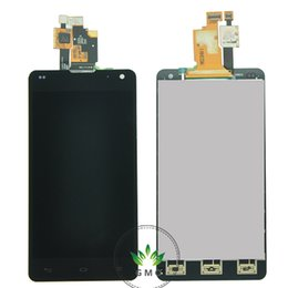 Wholesale Screen Digitizer For Optimus G - Wholesale-LCD Screen For LG Optimus G LS970 E975 E973 E977 F180K F180S F180L LCD With Touch Screen Digitizer Assembly Free Shipping