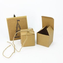 Wholesale House Packing Boxes - 50pcs Ecofriendly Kraft Box,Kraft Paper Packing Box Wedding Decoration Cany Boxes Baby Shower Wedding Favors and Gifts