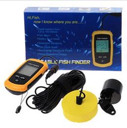 Wholesale Sonar Fish Detector - Outdoor Sport Electronic LCD Sonar fish detector Portable Fish Finder unique Sonar Sensor fish GPS 100M