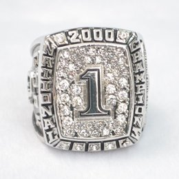 Wholesale University Rings - N.C.A.A Rugby orange bowl 2000 university of Oklahoma fashion ring Collection of fans
