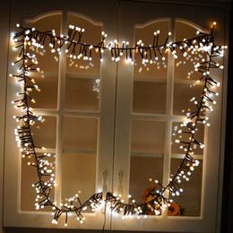 Globe de lumière clignotante en Ligne-10ft 400 LED Globe Étanche Fée String Lights LED Flash Strings avec 8 modes d'éclairage pour Mariage Extérieur / Intérieur Chambre Partie De Noël