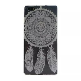 Wholesale Branding Process - Lovely Plastic Soft TPU soft Phone Cases For Huawei P8 Lite Mandala Ethnic colorful pattern cover case Anti fade process