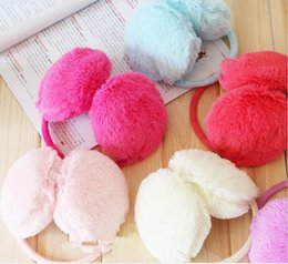 Wholesale Ear Protector Cold - Wholesale-Free Shipping Fashion Cold-proof Ear Muffs For Women Men Protector Solid Color Earmuffs Mens Winter Ear Warmer Earcap#0988