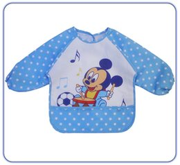 Wholesale Offer For Sale - Wholesale- 2016 Hot Sale Special Offer Character Unisex Baby Bib Baby Bibs For Baby Waterproof Clothing Anti Dressing Gowns Rice B-wzd059