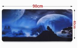 Wholesale Cartoon Rubber Mouse Pad - Precision sewing oversized large size game mouse pad cute cartoon mouse pad thickening notebook computer desk mat high quality anti-skid wa