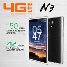 Wholesale Nfc Smartphone - 4G FDD-LTE KINGZONE N3 NFC OTG Quad Core MTK6582 1GB 8GB Android 4.4 5.0 inch Corning III Gorilla Glass 13.0MP Camera Fingerprint Smartphone