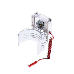 Wholesale Heat Fan Car Cooler - Motor Heat Sink With Cooling Fan for 1 10 RC Racing Car order<$18no track