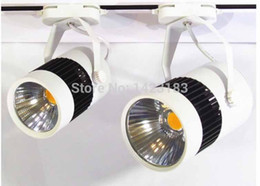 Wholesale Dimming Led Track - Wholesale-Free shipping COB LED Track lignt 30W 10pcs per lot, dimmable led track light, comply with traditional dimmer, triac dimmer