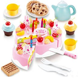 Wholesale Gift Package Ideas - Christmas gifts Free shipping Children play house toys Birthday Cake standard package Assembled birthday gift ideas