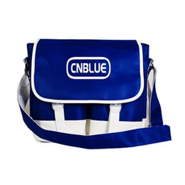 Wholesale Kpop Bags - Wholesale-kpop CNBLUE bag, inclined shoulder bag one shoulder bag around with