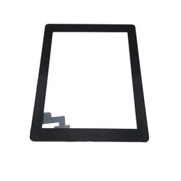 Wholesale Ipad Home Button Flex Cable - High Quailty Touch Screen Glass Panel Digitizer Flex Cable Home Button Assembly with Adhesive for iPad 2 3 4 5 Air
