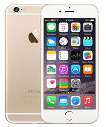 Wholesale camera front back - Refurbished 100% Original Apple iPhone 6 Unlocked Phone With Touch ID 4.7 inch ROM 16GB 64GB 128GB A8 IOS 8.0