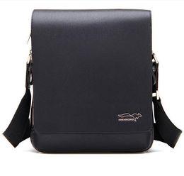 Wholesale Kangaroo Bag Men - Wholesale-Top selling 6 pattern high quality famous Brand kangaroo men's Messenger bag, shoulder bag men SMB012