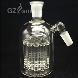 Wholesale Heavy Water - Bong Ash catcher Ashcatcher for glass bongs 11 arms tree 4mm thick heavy arms tree glass pipes smoking accessories bubbler water pipe