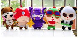 Wholesale Doll League Legends - LOL League of Legends Annie Bear Kennen Teemo Panda Lee Sin 5 Styles Plush Toys and Dolls