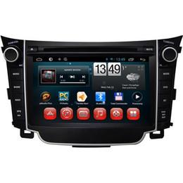 Wholesale Android Car Radio Hyundai - Bluetooth Car DVD Players Android 4.4 GPS Car DVD Players Fit for Hyundai I30 7 Inch Touch Screen 1.6GHz Dual Core Sale 7036A