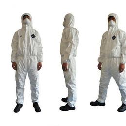 1422A Dupont Tyvek защитная одежда комбинезон одноразовые антистатические химической рабочей одежды анти пыли всплеск от