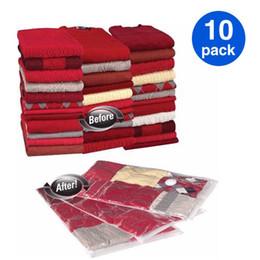 Wholesale Vacuum Bags Space Saving - FREE SHIPPING! 10 pc   lot, 50*60cm, vacuum storage bag, Space saving bag for clothing and bedding, Vac Bag