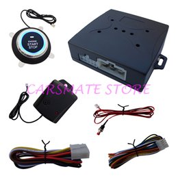 Wholesale Shocking Alarm Systems - Intelligent Upgrade 1 Way Car Security Alarm System Engine Start Stop Button With Shock Sensor & Emergency Release Switch