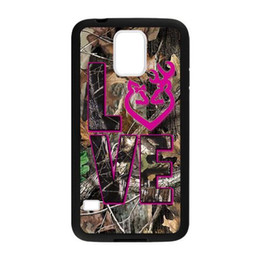 Wholesale Galaxy S4 Camo - New arrival Browning Camo Deer Protective for samsung galaxy S3 S4 S5 S6 samsung note4 note3 hard plastic cell phone back cover case
