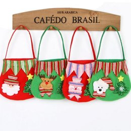 Wholesale Teenage Wholesale Decorations - New Christmas Gift Bag Variety of Styles Candy Bags Christmas Apple Gift Bag Christmas Decorations Party Supplies