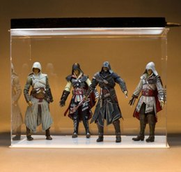 Wholesale Neca Toys Wholesale - 7inch 18cm NECA figures Three generations NECA Assassin's Creed II 2 Ezio Standard Figure doll toys ANSWERS HONOR REVENGE JUSTICE 4 styles