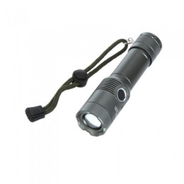 Wholesale Cheap Led Driving Lights - Cheap CREE T6 Zoom Flash Lights Aluminum Alloy Strobe 3 Modes Portable Waterproof Outdoor Flashlights LED Lamps SL-LF-1240