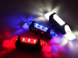 2019 luces de advertencia portables 50 unids / lote Envío Gratis Super Brillante Portátil Impermeable USB Recargable Bicicleta Trasera Posterior Luz de Advertencia de Seguridad Luz Trasera luces de advertencia portables baratos