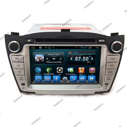 Wholesale Hyundai Tucson Gps Dvd - Car dvd gps navigation multimedia player android unit with 3g wifi mp4 5 control ipod camera input fit for Hyundai IX35 Tucson