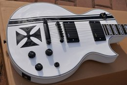 Wholesale Chinese Musical Instrument Shop - guitar Custom Shop white chinese electric guitars musical instruments guitarras