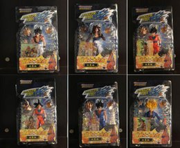 Wholesale new dragon ball figures - 2015 New 6pcs   set Dragon Ball Z Dragon Ball DBZ Action Figures Toys 13cm