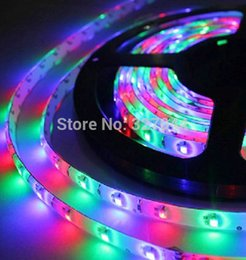Wholesale Color Led Strip Water Proof - Wholesale-10m 600LED 3528 non-water proof SMD 12V flexible light 60 led m 6 color LED strip white warm white blue green red yellow