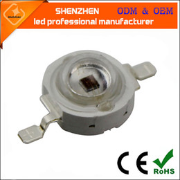 Wholesale High Power Uv Bulb - 1W 3W 5W High Power UV Ultraviolet 365nm 375 395nm 400nm 410nm 420nm LED Lamp Bulb Light